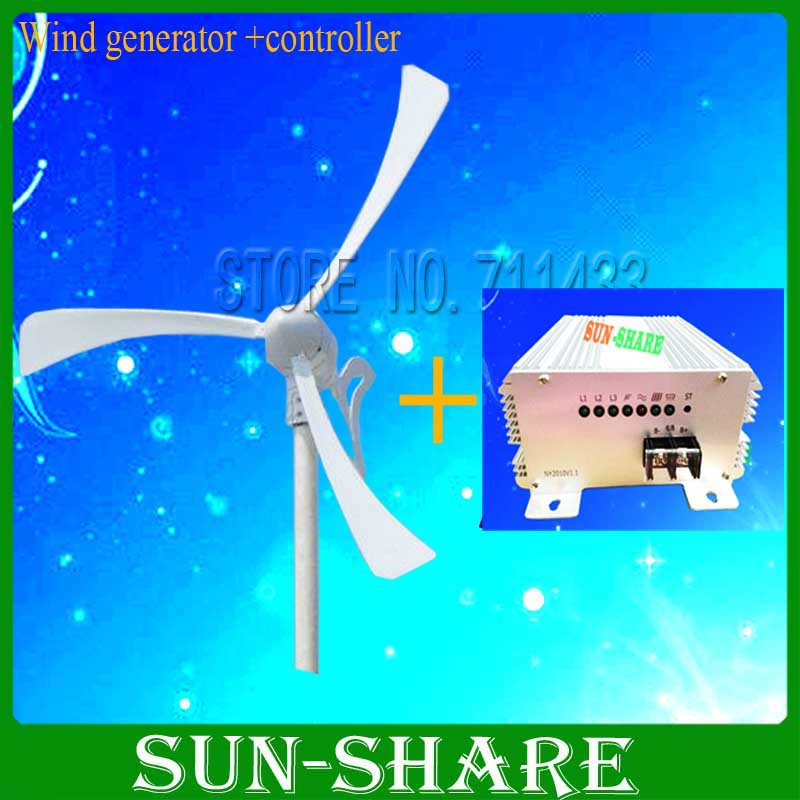 power-500w-12v-24v-small-wind-turbine-magnet-wind-kits-Auto-brake-wind ...