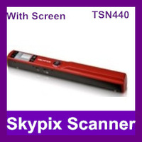 Free shipping!!!900DPI,A4 size,color scanning, preview scanner,Skypix TSN440 Take a preview screenPortable Scanner
