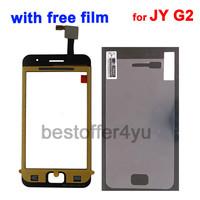 100% Original +Sticker+Film !!!   BLACK JY-G2 JIAYU G2 Touch Screen Digitizer Replacement for JIAYU G2 Touch Panel +tracking