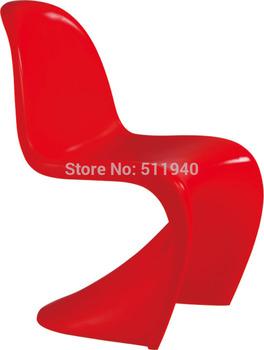 2 pieces/lot   ABS plastic  kids Verner panton chairs