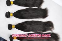 Cheap Beauty Free shipping peruvian virgin unprocessed queens virgin human hair weft 4pc 3pc a lot Hair weave extensions bundles