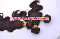 Cheap Beauty Free shipping peruvian hair 2# queens virgin human hair weft body wave 4pc 3pc a lot Hair weave extensions bundles