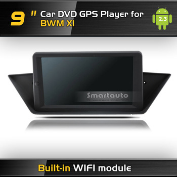 Android GPS player Keep car original CD system 9 inch car GPS for BMW X1 Support Parking Camera built-in WIFI