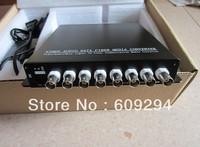 8CH Video Digital Optical Transmitter and Receiver  Fiber Optical Video Converter 2pcs/lot
