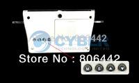 3Pcs/Lot LED Luminous Message Board Digital Desk Table Alarm Clock With Calendar Free Shipping 6012