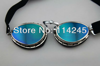 Steampunk Style Pilot Motorcycle Scooter ATV Goggle Eyewear T02 Colour Lens