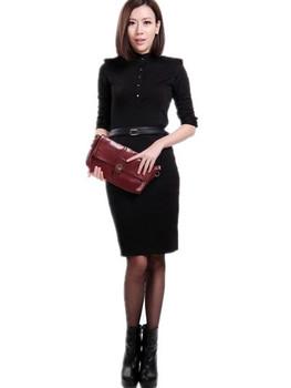Promotion Free Shipping ! 2015 Spring autumn new arrival fashion vintage Fashion Brand dress women sexy, sexy club dresses