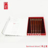 6 pairs one set  choptsicks gift chopsticks