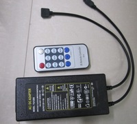 AC Input 12 Key IR Remote Control LED Dimmer with built-in power supply 72W for 12V LED Strip