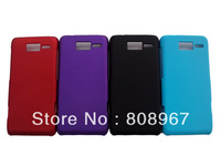Hot sale 50pcs/lot hard frosted matte case cover for Motorola RAZR i XT890 Good quality and fashion style free shipping