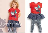 New, retails ,carter's kids, girls long sleeve suit, 1pcs/lot, --JYS610