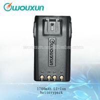 WOUXUN Original 1700mAh Li-ion Battery  KG-UVD1P|KG-UV6D|KG-UV679|KG-679