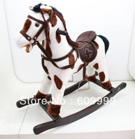 rollaround horse/rocking horse/baby rollaround trojan solid wood child rocking horse =YM