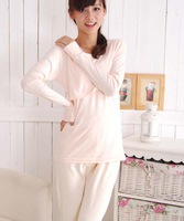 2013 new arrival autumn winter  maternity nusing thermal underwear  maternity underwear set intimate  nursing  clothing