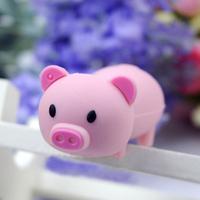 Cute Pink Pig Memory Flash stick drive Cartoon pendrive1GB 2GB 4GB 8GB 16GB 32GB Anniversary Celebrations Gifts