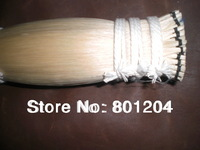 200 hanks of white bow hair 32 inches (6g/hank) totally 1.2kgs net weight