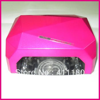 2013 New Long Life Diamond CCFL/LED Lamps Nail Art LED UV Nail Lamp Free Shipping!