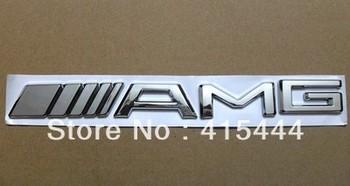 NEW MERCE DES BENZ AMG GRILL BADGE C55 CLK55 CLS55 500 CDI ML55 S55 E63 SL  free delivery
