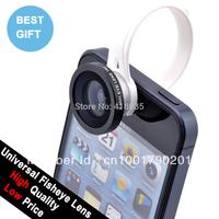Circular clip 180 Detachable Fish Eye Fisheye Lens for iPhone 4S 4G 5G 6 Plus HTC One Samsung i9300 S5 S4 S3