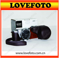 Free Shipping Ever Ready Camera Carry Case Bag+ strap for Sony NEX-5R NEX 5R 16-50mm