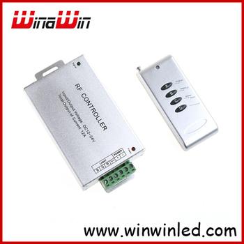 RGB Controller Wireless RF Remote Controller 4 Keys for RGB LED Strip Light,12-24V ,free shipping