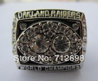 1980 NFL OAKLAND RAIDERS XV Super Bowl Championship ring Replica rings best gift for fans collection size 11 US in stock