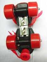 Four-wheel  External Roller skates 7 years old children Beginner Adjustable length Double row round
