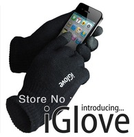 FREE SHIPPING 2 Pairs IGlove Screen Touch Gloves with High Grade Box Unisex Winter for phone/pad touch glove 2 colors