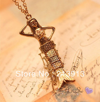 Min.order 15$   Beautiful mermaid charm pendant necklace