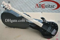 2013 New Style 5 strings music stingRay black electric bass with 9 V Battery active pickups bass