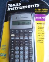 Hot New Cfa texas instruments ti ba ii plus financial calculator cfp frm soa rfp calculator office graphic calculator scientific