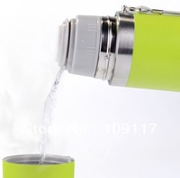 500 ml stainless steel bullet vacuum thermos #TH001