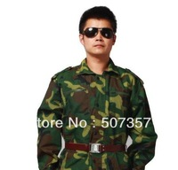 Freeshipping! Wholesale Men and women camouflage suit / for camouflage training / jungle military training service