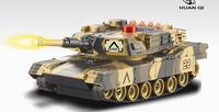 Free shipping 2 pcs/set wireless infrared battle tank HQ 537-10 tiger tank toy