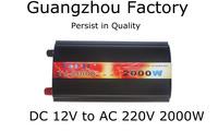 12v 220v 2000w car inverter 12v 220v 2000w car power converter cigarette lighter Battery Inverter DC 12v to AC 220V 2000W