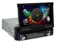 7inch touch screen monitor 1 din Car DVD player with FM,AM,GPS,SWC,bluetooth full function