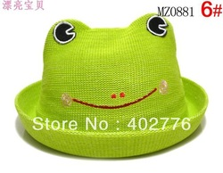 Children Cartoon Animal Bucket Polyester fiber Hat EEL WEAR Kid Hats Baby Fisherman Hat Children Sun hat V130122053(China (Mainland))