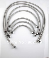 5pcs/lots Water Hose Perfect Hose 120cm long Metal Flexible Hose Shower Pipe Tube Pipe Bathroom Sets KF-0120