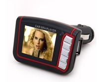 "LCD Car MP3 / MP4 1.8""  music Player  / FM Transmitter + Free Shipping"