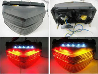 Free shipping Motocycle LED Tail Light For Honda CBR 600 F4i Tail Light 2001-2003 01 02 03 Clear Integrated LED [TL16]