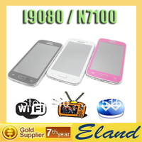 Hot sale I9080 N7100 mobile phone dual sim dual standby wifi tv phone