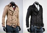2014 New Fashion Winter short Style Men Coats Stylish Jackets Brand Desinger Casual Men's Clothing