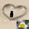 5pcs/lot Heart-Shaped Fried Eggs Device Stainless Steel Egg Ring Circle Egg Mould Mold Free Shipping