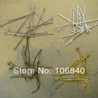 "500pcs diy jewelry accessories 30MM ""9"" pin / connecting  Pin metal Finding Free shipping"