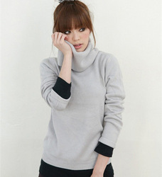 multi-color sweater, Korea, 2013 the latest full hair, special sales sweater Drop shipping A1089(China (Mainland))
