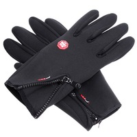 New 2013 Anti-slip Windproof winter Cycling Ski Bike Bicycle Full Long finger warm gloves  L