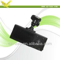 ZXS- car dvr recorder, Dual lens for Car camera, video recording camera for Car, Night vision Car dvr  H990