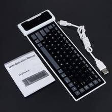cheap flexible silicone keyboard