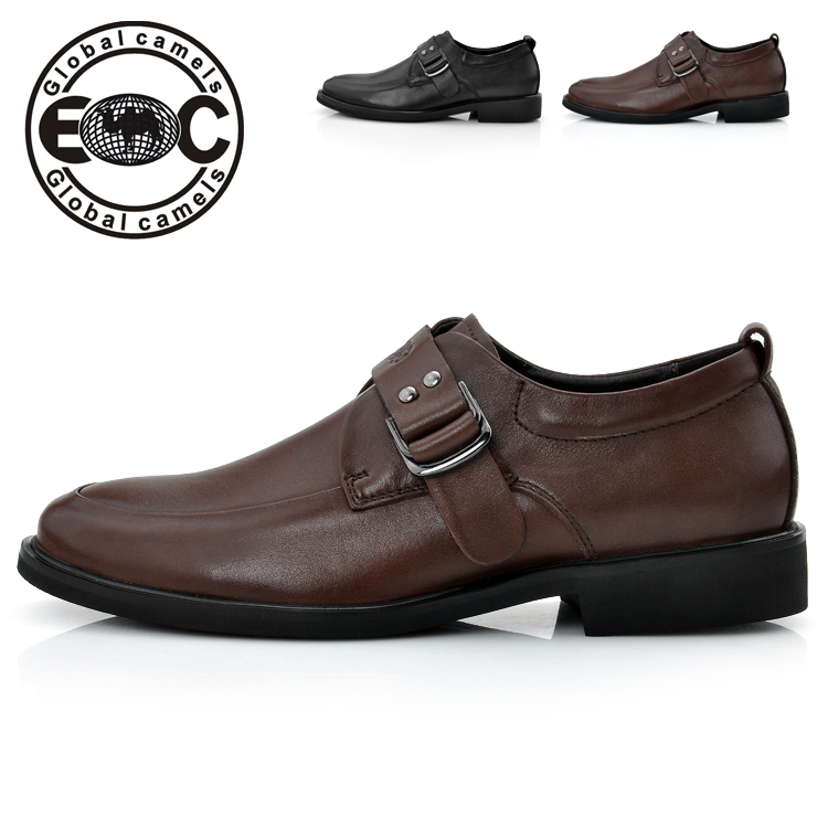 Free Shipping+New Arrival Genuine Leather Charm Men Shoes Top Cowskin Business Shoes High Quaity Noble Dress Office Shoes 37-44(China (Mainland))