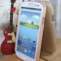 2013 high quality Luxury Tree Wood Style Hard Skin Cover Case For Samsung Galaxy S3 S III i9300